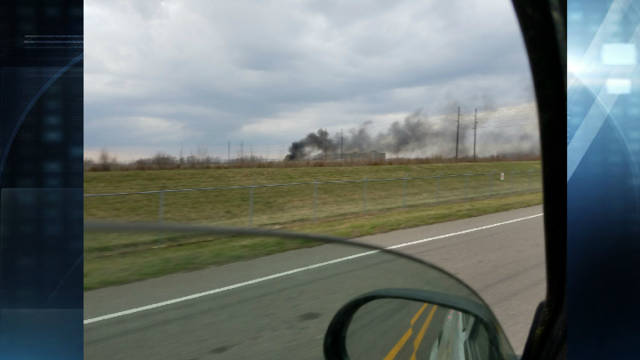 Large Fire Reported at Diversity Vuteq