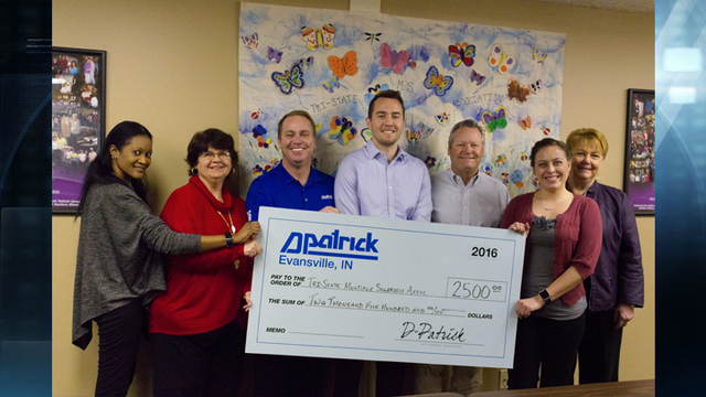 Tri-State Multiple Sclerosis Association Receives Donation from D-Patrick Ford