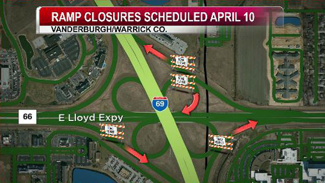 Ramp Restrictions Planned for I-69 in Evansville