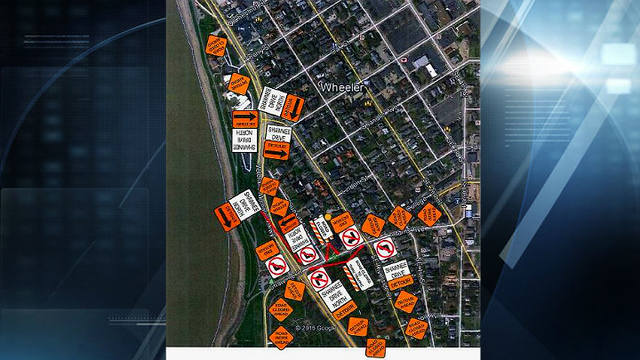 Starting Today, Section of Shawnee Dr. Closed for about Eight Weeks