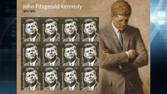 USPS Releasing Stamp for President Kennedy's Birth Centennial