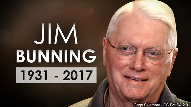 Sen. McConnell Honors Life of Jim Bunning