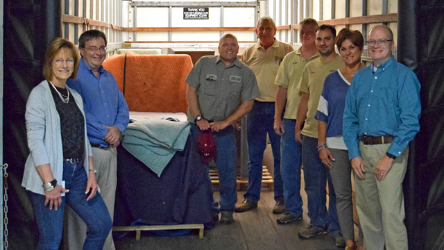 National Office Furniture Donates to TRI-CAP