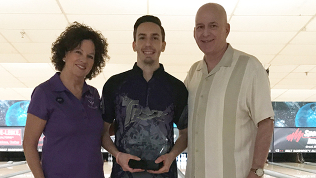 Professional Bowler from Evansville Wins First Title