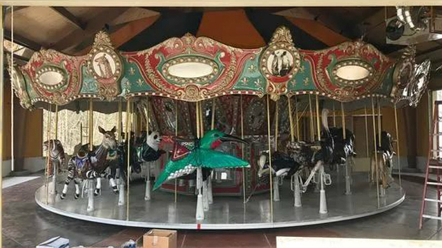 Engelbrecht Carousel Ribbon Cutting Ceremony Set for Today