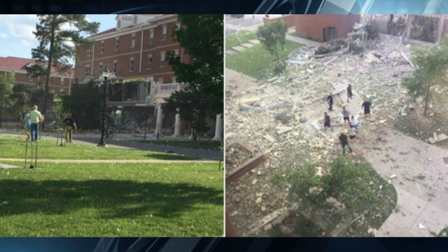 Authorities Investigating Explosion at Murray State University