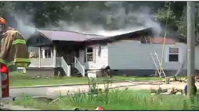 Fire Damages McLean County House