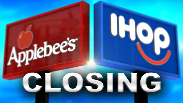 Applebee's, IHOP to close up to 160 restaurants