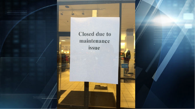 JCPenney at Eastland Mall Closed Briefly