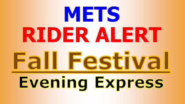 METS to Offer Fall Festival Shuttle, Some Routes Will be Adjusted During Fest