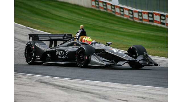 New Indycar aerokit gets first official test