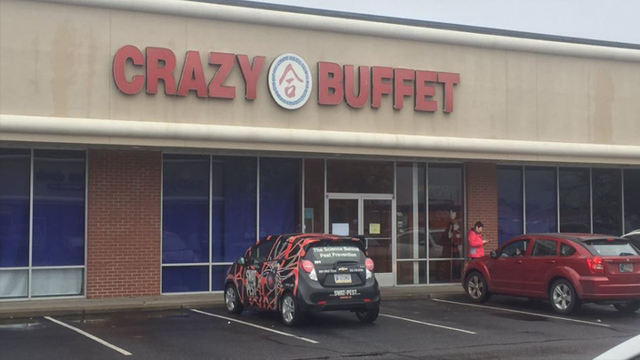 Health department closes Crazy Buffet