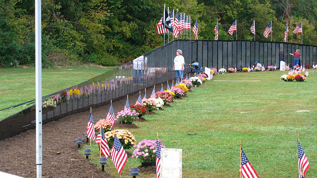 French Lick Resort hosts veterans tribute and wall