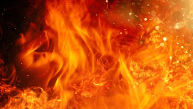 Fire in Union County sends man to the hospital