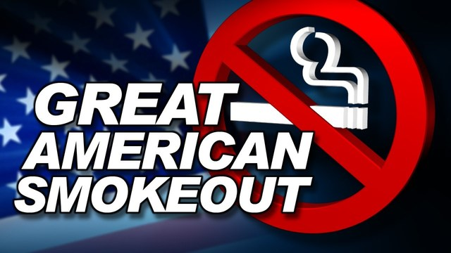 Thursday Is The Great American Smokeout