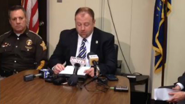 Evansville Police Chief Billy Bolin Press Conference