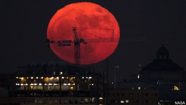 Supermoon, Blue Moon, Lunar Eclipse All Coming Jan. 31