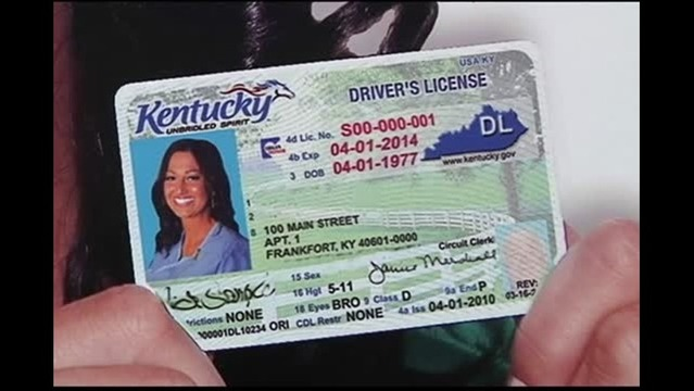 Kentucky Laws Federal Not Id Compliant Licenses With