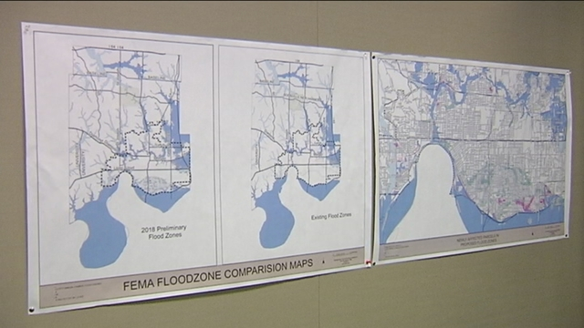 Open House Shows New Proposed Flood Zone Maps - Flood zone maps by address