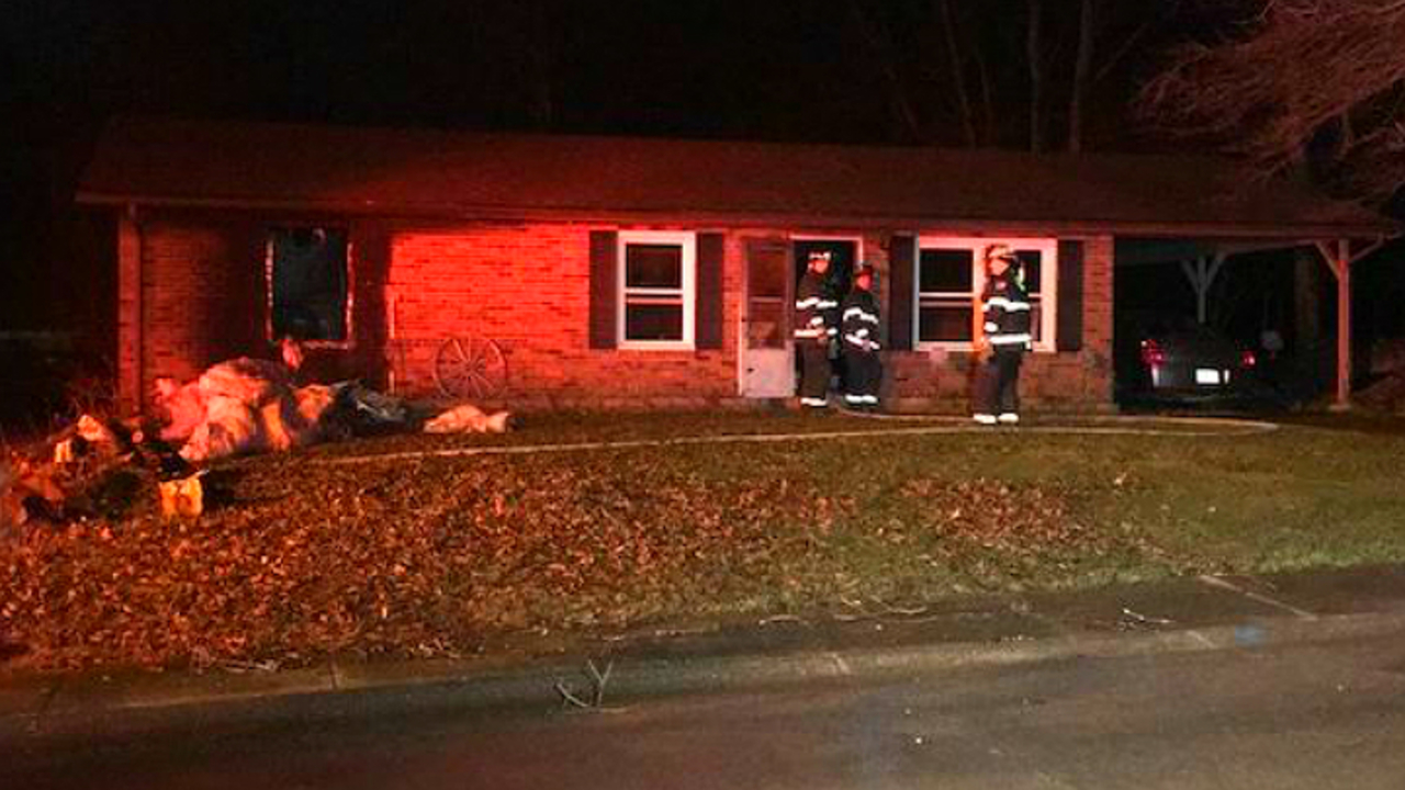 Boonville firefighters tackle early morning fire