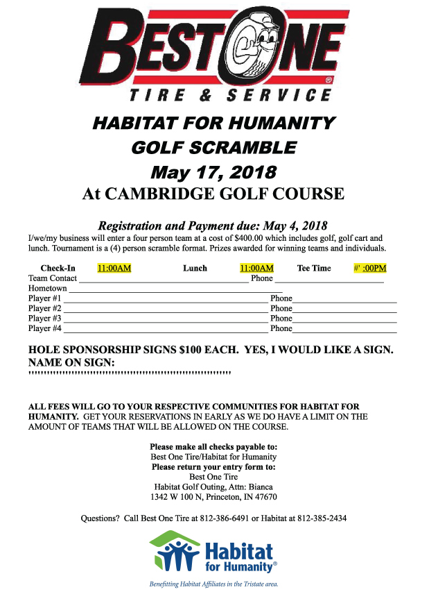 Best one golf outing tristatehomepage click here to download registration form fandeluxe Choice Image