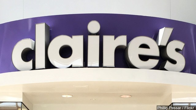 Accessories retailer Claire's Stores files for bankruptcy