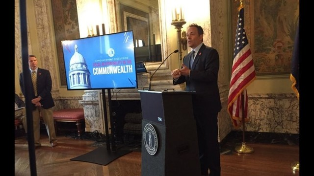 Gov. Bevin says he will veto state budget and tax legislation
