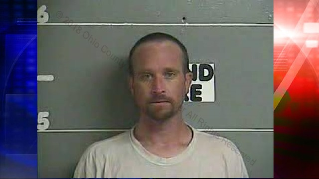Man walking on Ohio Co. road arrested for drugs