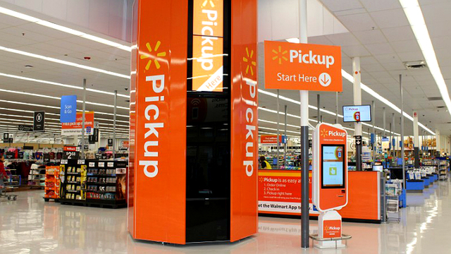 Walmart Pickup Tower launches at Evansville Supercenter