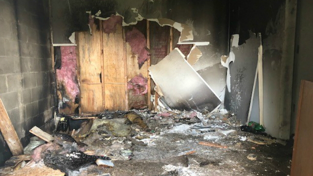 Body found inside Evansville apartment after fire