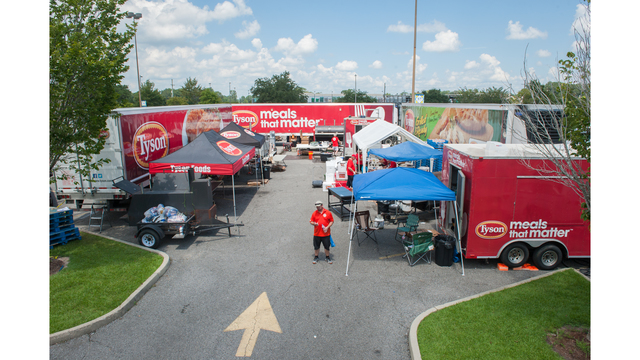 Tyson Foods sending food, cook teams to Georgia for hurricane relief
