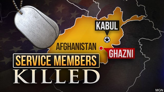 Fourth US service member dies after IED attack in Afghanistan