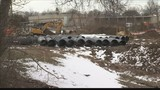 Government shutdown impacting sewer project in Evansville