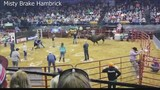 """Woman taking part in """"Bull Bash"""" event in Owensboro says everyone in the ring knew what to expect"""