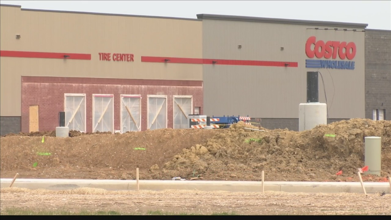 Construction On Evansvilles Costco Moving Quickly
